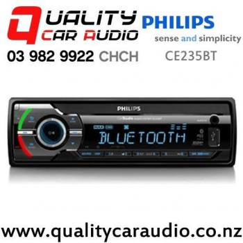 Philips CE235BT Bluetooth USB SD AUX NZ Tuner 1x Pre Out Car Stereo with Easy Finance