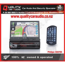 Philips CED781 NAVIGATION DVD BLUETOOTH USB NZ TUNERS With Easy LayBy