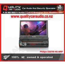 Philips CED781BTK Navigation (no map) Bluetooth DVD USB AUX NZ Tuners Car Stereo with Easy Layby