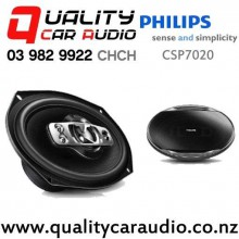 "Philips CSP7020 7x10"" 550W (85W RMS) 5 Way Coaxial Car Speakers (pair) with Easy Finance"