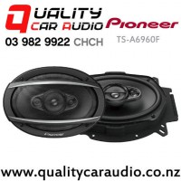 """Pioneer TS-A6960F 6x9"""" 450W (90W RMS) 4 Way Coaxial Car Speakers (pair) with Easy Payments"""