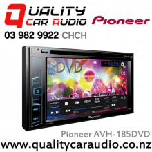 """Pioneer AVH-185DVD 6.2"""" DVD USB AUX Apple/Android Compatible 2x Pre Outs Car Head Unit with Easy LayBy"""