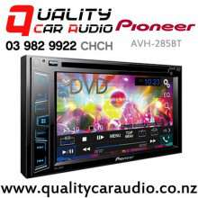 Pioneer AVH-285BT Bluetooth DVD USB AUX NZ Tuners 2x Pre Outs with Easy LayBy
