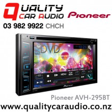 "Pioneer AVH-295BT 6.2"" Bluetooth DVD USB AUX Apple/Android Compatible 2x Pre Outs Car Head Unit with Easy LayBy"