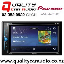 Pioneer AVH-A205BT Bluetooth DVD USB AUX NZ Tuners 3x Pre Out Car Stereo with Easy Finance