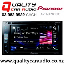 "Pioneer AVH-X2850BT 6.2"" Bluetooth DVD USB AUX NZ Tuners 3x Pre Outs with Easy LayBy"