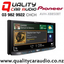 "Pioneer AVH-X8850BT 7"" Apple Car Play Bluetooth DVD USB AUX NZ Tuners 3x Pre Outs with Easy Layby"