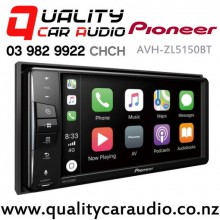 Pioneer AVH-ZL5150BT 200mm Apple CarPlay Android Auto Bluetooth DVD USB AUX NZ Tuner 3x Pre-outs Car Stereo with Easy Finance