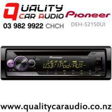 Pioneer DEH-S2150UI CD USB AUX Apple Android Spotify NZ Tuner 2x Pre Outs Car Stereo with Easy Payments