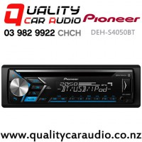 Pioneer DEH-S4050BT Bluetooth (Dual) USB CD AUX Smartphone Support 2x Pre Outs NZ Tuners Car Stereo with Easy Finance