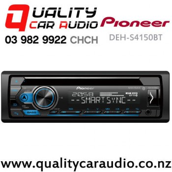Pioneer DEH-S4150BT Bluetooth CD USB AUX Apple Android Spotify NZ Tuner 2x Pre Outs Car Stereo with Easy Payments