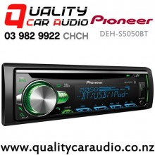 Pioneer DEH-S5050BT Bluetooth USB CD AUX iPod Androd Support NZ Tuners 2x Pre Out Car Stereo with Easy Finance