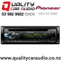 Pioneer DEH-S5150BT Bluetooth CD USB AUX iPod Android Spotify NZ Tuner 2x Pre Outs Car Stereo with Easy Payments