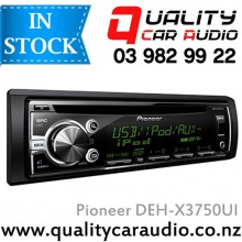 Pioneer DEH-X3750UI CD USB AUX iPod NZ Tuners (RDS) 2x Pre Outs with Easy LayBy