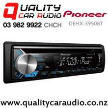 Pioneer DEH-X3950BT Bluetooth iPod/Android CD USB AUX NZ Tuners (RDS) 2x Pre Out with Easy Layby
