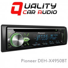 Pioneer DEH-X4950BT Bluetooth IPOD CD USB AUX NZ Tuners (RDS) 2x Pre out