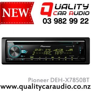 Pioneer DEH-X7850BT CD BT USB AUX Unit - Easy Layby
