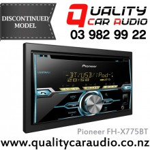 Pioneer FH-X775BT Bluetooth CD USB AUX IPOD NZ Tuners (RDS) 2x Pre Outs Car Stereo with Easy LayBy