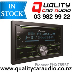 Pioneer FH-X785BT IPOD Bluetooth CD USB AUX Bluetooth NZ Tuners 3x Pre Outs