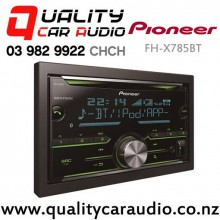 Pioneer FH-X785BT IPOD/Android Bluetooth CD USB AUX Bluetooth NZ Tuners (RDS) 3x Pre outs with Easy Layby