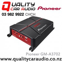 Pioneer GM-A3702 190W 2 Channel Class AB Car Amplifier with Easy LayBy