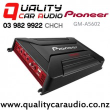 Pioneer GM-A5602 900W (450W RMS) 2/1 Channels Bridgeable Mosfet Power Car Amplifier with Easy Layby