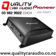 Pioneer GM-D8601 1600W 2/1 Channels Class D Car Amplifier (incl Bass Boost Remote) with Easy Layby