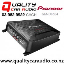Pioneer GM-D8604 1200W 4/3/2 Channels Class D Power Car Amplifier (incl Bass Boost Remote) with Easy Layby