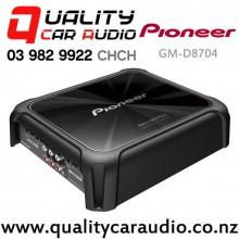 Pioneer GM-D8704 1200W 4/3/2 Channel Class FD Compact Car Amplifier with Easy Payments