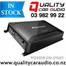 Pioneer GM-D9601 2400W 1 Channel Mono Class D Car Amplifier (incl Bass Boost Remote) with Easy Layby
