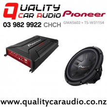 Pioneer GMA5602 + TS-W311S4 Package - Easy LayBy