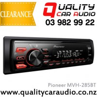 Pioneer MVH-285BT Bluetooth USB AUX Android NZ Tuners 1x Pre Out with Easy Layby