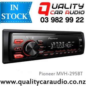 Pioneer MVH-295BT Bluetooth USB AUX  Android NZ Tuners 1x Pre Out with Easy LayBy