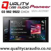 Pioneer MVH-AV290BT Bluetooth Smart Phone Support USB 2x Pre Out Digital Multimedia Player (does not play CD) with Easy Finance