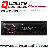 Pioneer MVH-S105UI iPod/iPhone USB Aux Nz Tuner 1x Pre Out Car Stereo with Easy Finance