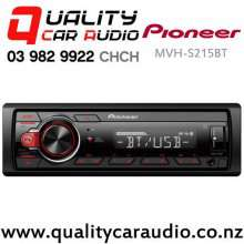 Pioneer MVH-S215BT Bluetooth USB AUX Android NZ Tuner 1x Pre Out Car Stereo with Easy Payments
