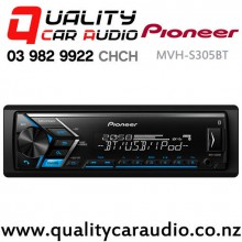 Pioneer MVH-S305BT Dual Bluetooth USB Smartphone Support Spotify NZ Tuners Car Stereo with Easy Finance