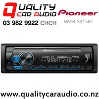 Pioneer MVH-S315BT Bluetooth USB AUX Ipod Android 1x Pre Out Car Stereo with Easy Finance