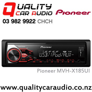 Pioneer MVH-X185UI USB AUX iPod NZ Tuners 1x Pre Out with Easy LayBy