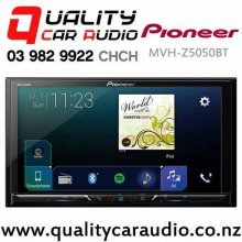 Pioneer MVH-Z5050BT Bluetooth Apple CarPlay Android Auto USB 3x Pre Outs Car Multimedia Player (does not play CD) with Easy Finance