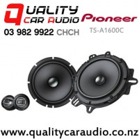 """Pioneer TS-A1600C 6.5"""" 350W (80W RMS) 2 Way Component Car Speakers (pair) with Easy Payments"""
