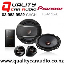 "Pioneer TS-A1606C 6.5"" 350W (60W RMS) 2 Ways Car Component Speakers (in pair) with Easy Layby"