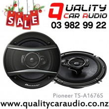 """Pioneer TS-A1676S 6""""/ 6.5"""" 350W 3 Ways Coaxial Speakers (pair) with Easy LayBy"""