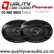 "Pioneer TS-A6975S 6x9"" 500W (90W RMS) 3 Ways Coaxial Car Speakers (Pair) with Easy Layby"