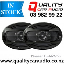 "Pioneer TS-A6975S 6x9"" 3 Ways 500W Coaxial Car Speakers (Pair) with Easy Layby"