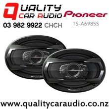 "Pioneer TS-A6985S 6x9"" 550W 4 Ways Coaxial Car Speakers (Pair) with Easy Finance"
