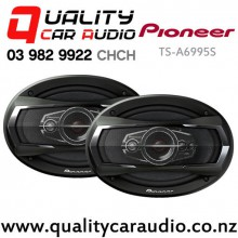 "Pioneer TS-A6995S 6x9"" 600W (100W RMS) 5 Way Car Speaker (Pair) with Easy Layby"