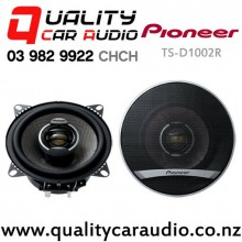 "Pioneer TS-D1002R 4"" (10cm) 110W (25W) 2 Ways Coaxial Car Speakers (Pair) with Easy Layby"