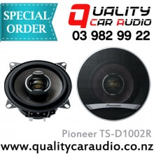 "Pioneer TS-D1002R 4"" (10cm) 110W 2 Ways Coaxial Car Speakers (Pair) with Easy Layby"