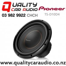 """Pioneer TS-D10D4 10"""" 1500W (500W RMS) Dual 4 ohm Voice Coil Car Subwoofer with Easy Finance"""